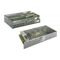 Блокпитания250Вт-12В-IP20для светодиодных лент и модулей, металлTDM