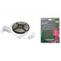 Комплект светодиодной лентыSMD2835-60LED/м-12 В-4,8 Вт/м-IP20-3000 К (5м), 24 Вт TDM