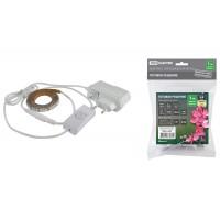 Комплект светодиодной ленты SMD2835-60LED/м-12 В-4,8 Вт/м-IP20-3000 К (1м), 6 Вт TDM
