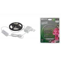 Комплект светодиодной лентыSMD2835-60LED/м-12 В-4,8 Вт/м-IP20-6000 К (3м), 18 ВтTDM