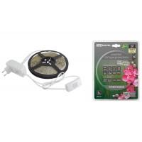 Комплект светодиодной лентыSMD2835-60LED/м-12 В-4,8 Вт/м-IP65-3000 К (5м), 24 Вт TDM