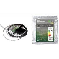 Лента светодиодная SMD2835-60 LED/м-IP65-12 В-4,8 Вт/м-3000 К (5 м) TDM