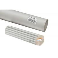 Труба гладкая жесткая ПВХ d 16 (104 м) длина 2 м индивид. штрихкод TDM