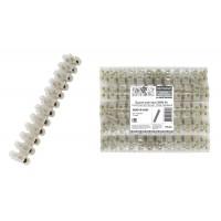 Зажим винтовой ЗВИ-30, полиэтилен 6,0-16,0 мм2, 12пар, Народный