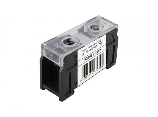 Блок зажимов БЗД-1 до 25 мм2 90A TDM