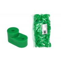 Изолятор угловой зелёный TDM