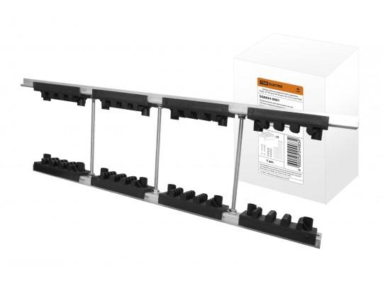 Набор шинных держателей и крепежа НШД  4/5 TN для 3Р+N шин 30-125 x 5 мм TDM