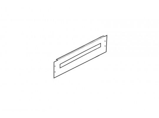 Фальш-панель для ВРУ 150х600мм с вырезом TDM