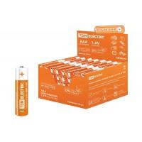 Элемент питания LR03 AAA Alkaline 1,5V PAK-96 TDM